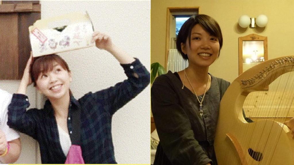おっちラボ代表の矢田さんと里山ぐらしにあこがれてを制作した曽宮さん