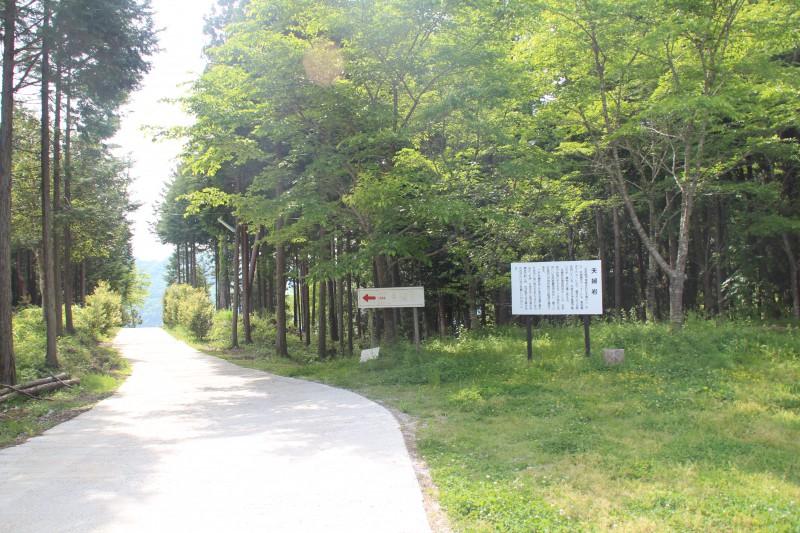 「 足の悪い人にも夫婦岩を見てほしい」と、自分たちで林道を整備して近くまで車で行ける道を作った。</