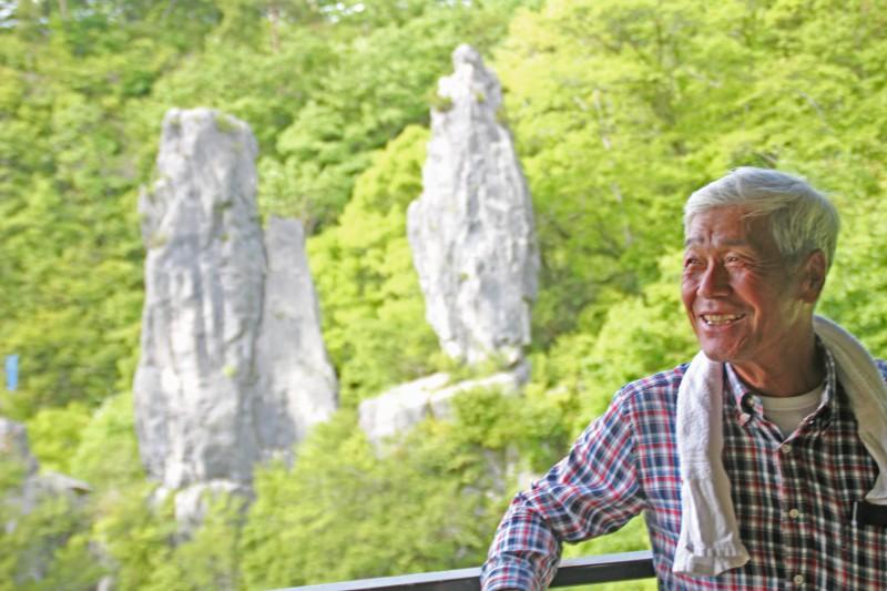 「夫婦岩は地域の生きがい。夫婦岩があるから皆も頑張ってこれた」