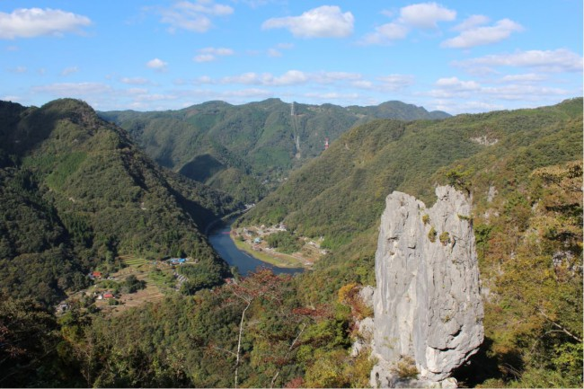 岩と絶景のコラボレーション
