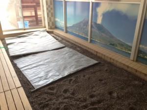 砂風呂は指宿の砂