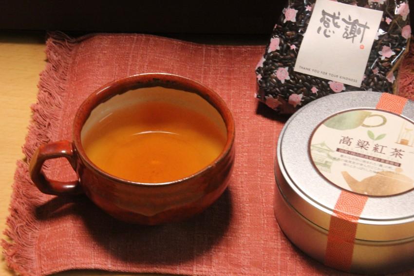 スッキリとした味わいの高梁紅茶はお土産にも人気
