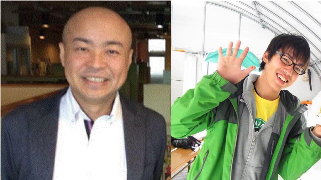㈱ファイブアローズ代表取締役の星島さんと元高梁地域おこし協力隊の佐藤(私)