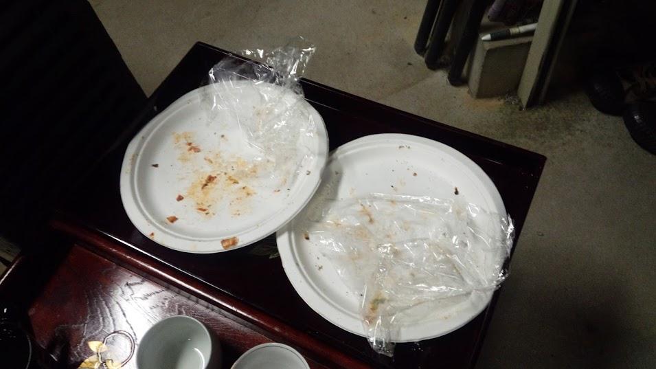 S隊員からピザの差し入れもありましたが、写真撮り忘れてしまいました。