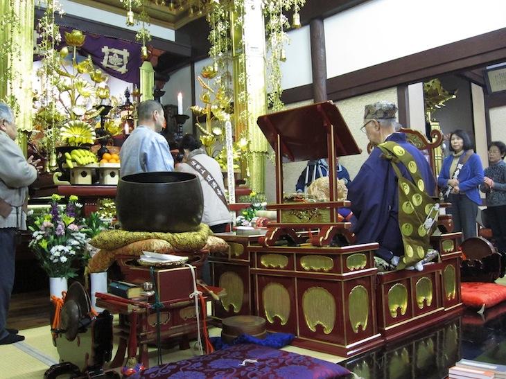 道源寺では熊田 恰の法要も営まれるらしい(高梁市観光ガイド)